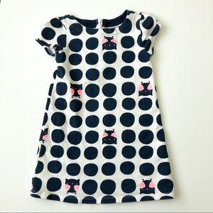 Crazy 8 Polka dot cat dress